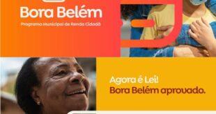 Bora Belém Programa Social Auxílio Emergencial