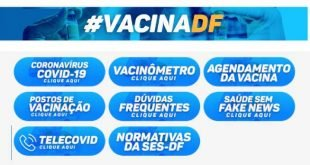 Vacina DF Cadastro Agendamento